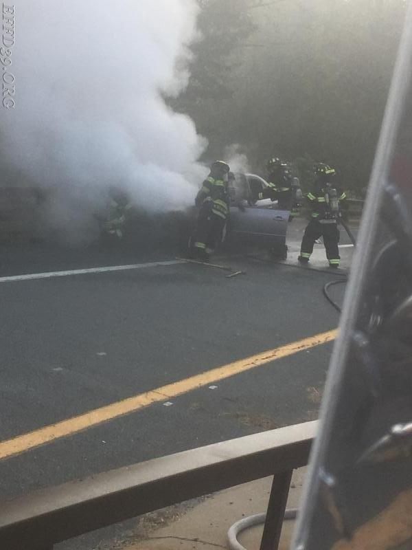 10/02/2017 East Fishkill Car Fire