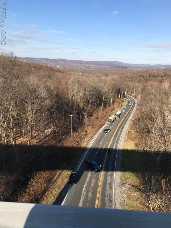 11/30/2017 I-84 trailer hang over bridge
